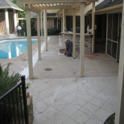 <p>pool deck before</p>